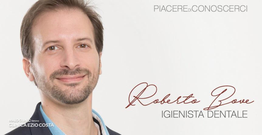 foto di Roberto Bove, igienista dentale di Clinica Ezio Costa