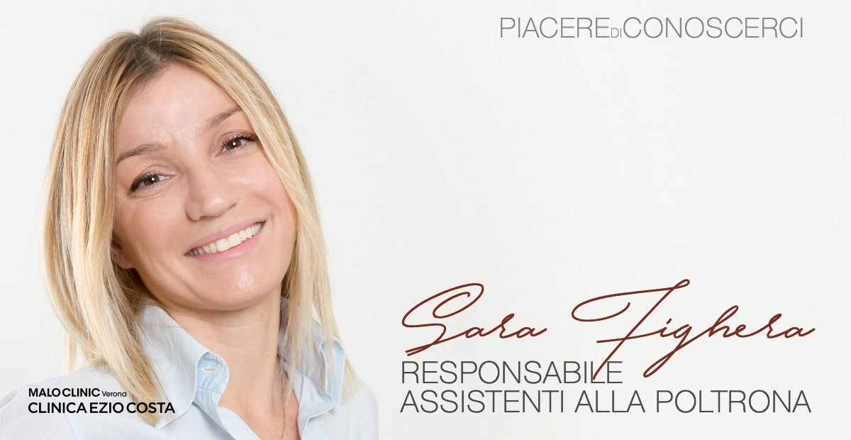 Piacere di conoscerci! Sara Fighera, Responsabile Assistenti