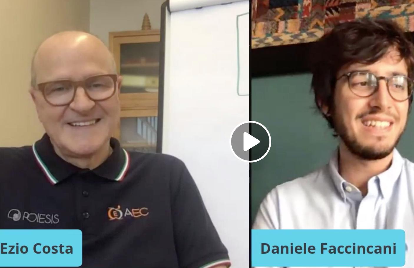 Piacere di conoscerci… con Daniele Faccincani